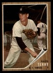 1962 Topps #48  Ralph Terry  Front Thumbnail