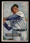 1951 Bowman #317  Smoky Burgess  Front Thumbnail