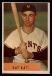 1954 Bowman #121  Ray Katt  Front Thumbnail