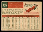 1959 Topps #426  Jerry Staley  Back Thumbnail