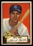 1952 Topps #62  Chuck Stobbs  Front Thumbnail