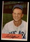1954 Bowman #205  Hal Jeffcoat  Front Thumbnail