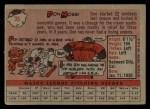 1958 Topps #35 ^WT^ Don Mossi  Back Thumbnail