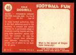 1958 Topps #46  Dale Dodrill  Back Thumbnail