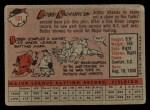 1958 Topps #101 WN Bobby Richardson  Back Thumbnail