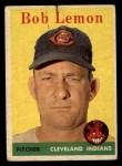 1958 Topps #2 ^WT^ Bob Lemon  Front Thumbnail