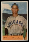 1954 Bowman #125  Warren Hacker  Front Thumbnail