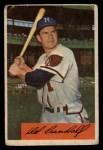 1954 Bowman #32  Del Crandall  Front Thumbnail