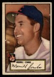 1952 Topps #18  Merrill Combs  Front Thumbnail