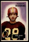 1955 Bowman #6  Hugh Taylor  Front Thumbnail