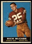 1961 Topps #161  Rich McCabe  Front Thumbnail