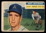 1956 Topps #258  Art Ditmar  Front Thumbnail