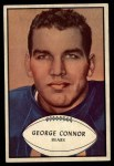 1953 Bowman #37  George Connor  Front Thumbnail