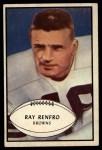 1953 Bowman #62  Ray Renfro  Front Thumbnail