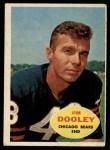 1960 Topps #15  Jim Dooley  Front Thumbnail