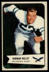 1954 Bowman #21  Norm Willey  Front Thumbnail