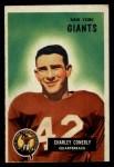 1955 Bowman #16  Charley Conerly  Front Thumbnail