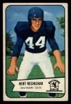 1954 Bowman #26  Bert Rechichar  Front Thumbnail