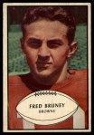 1953 Bowman #49  Fred Bruney  Front Thumbnail
