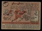 1958 Topps #130  Jackie Jensen  Back Thumbnail