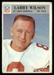 1966 Philadelphia #168  Larry Wilson  Front Thumbnail