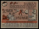 1958 Topps #74  Roy Face  Back Thumbnail