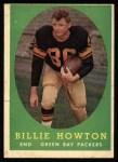 1958 Topps #6  Bill Howton  Front Thumbnail