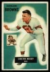 1955 Bowman #98  Carlton Massey  Front Thumbnail