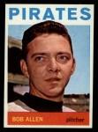 1964 Topps #209  Bob Allen  Front Thumbnail