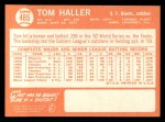 1964 Topps #485  Tom Haller  Back Thumbnail