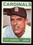 1964 Topps #385  Curt Simmons  Front Thumbnail