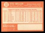 1964 Topps #565  Stu Miller  Back Thumbnail