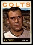 1964 Topps #241  Jim Owens  Front Thumbnail