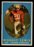 1958 Topps #82  Woodly Lewis  Front Thumbnail