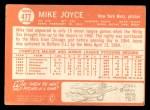 1964 Topps #477  Mike Joyce  Back Thumbnail