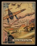 1941 Gum Inc. War Gum #20   Filipinos Attack 54 Japanese Planes Front Thumbnail