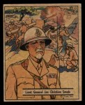 1941 Gum Inc. War Gum #107   Lt. General Jan Christian Smuts Front Thumbnail