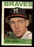 1964 Topps #53  Denis Menke  Front Thumbnail