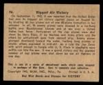 1941 Gum Inc. War Gum #96   Biggest Air Victory Back Thumbnail