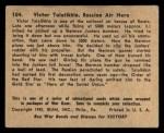 1941 Gum Inc. War Gum #104   Victor Talalikhin Russian Air Hero Back Thumbnail