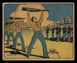1941 Gum Inc. Uncle Sam Home Defense #61   Keeping Fit Front Thumbnail