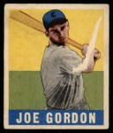 1948 Leaf #117  Joe Gordon  Front Thumbnail
