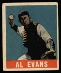 1949 Leaf #22  Al Evans  Front Thumbnail