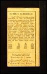 1911 T205 #205  Kid Elberfield  Back Thumbnail