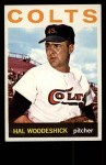 1964 Topps #370  Hal Woodeshick  Front Thumbnail
