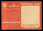 1958 Topps #132  Don Bosseler  Back Thumbnail