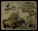 1941 Gum Inc. Uncle Sam Home Defense #10   The Armored Force Front Thumbnail