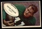 1953 Bowman #89  Frank Ziegler  Front Thumbnail