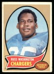 1970 Topps #206  Russ Washington  Front Thumbnail