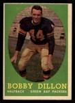 1958 Topps #32  Bobby Dillon  Front Thumbnail